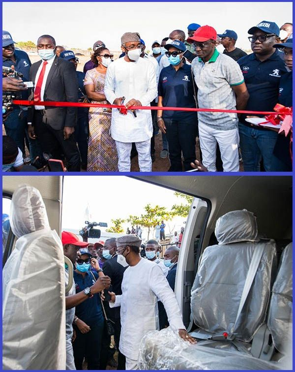 Photos-of-Hon-Femi-Gbajabiamila-unveiling-new-cars-produced-by-PAN-Nigeria-Limited