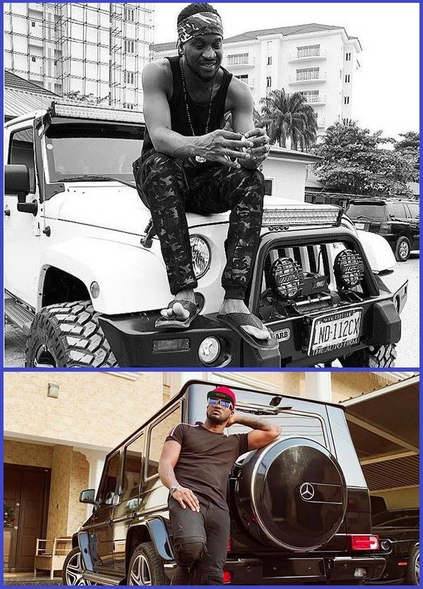 Photos-of-Peter-and-Paul-Okoye-posing-with-their-cars