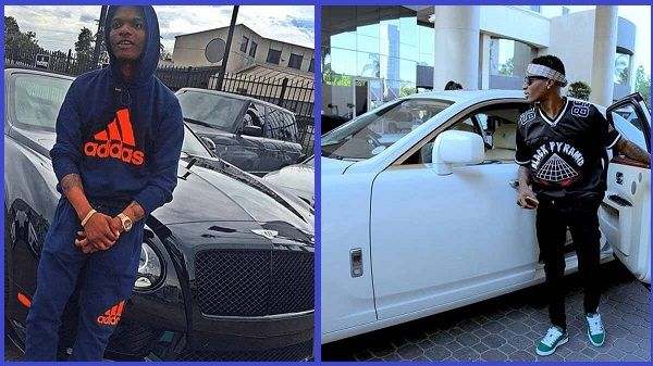 Wizkid-posing-with-his-cars