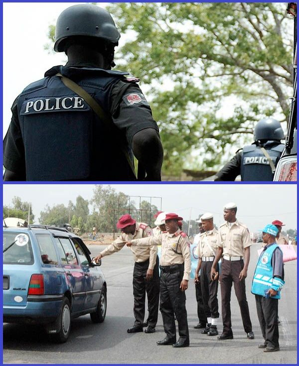 Collage-Photo-of-FRSC-personnel-and-policemen-in-Lagos-state