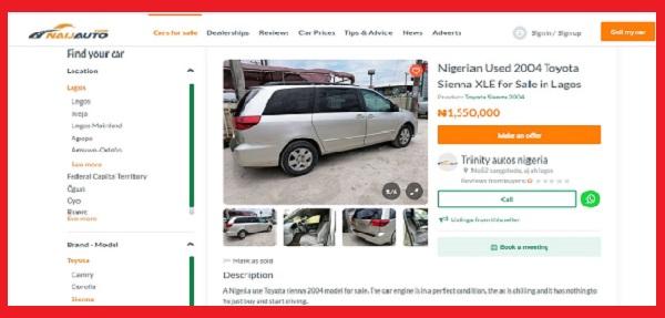 naijauto-car-listing