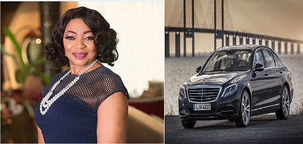 folorunsho-alakija-and-her-car