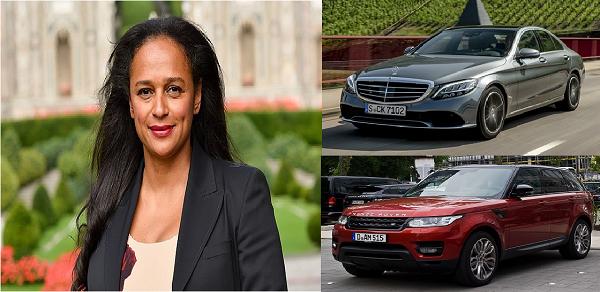 Isabel -Dos -Santos-and-her-cars