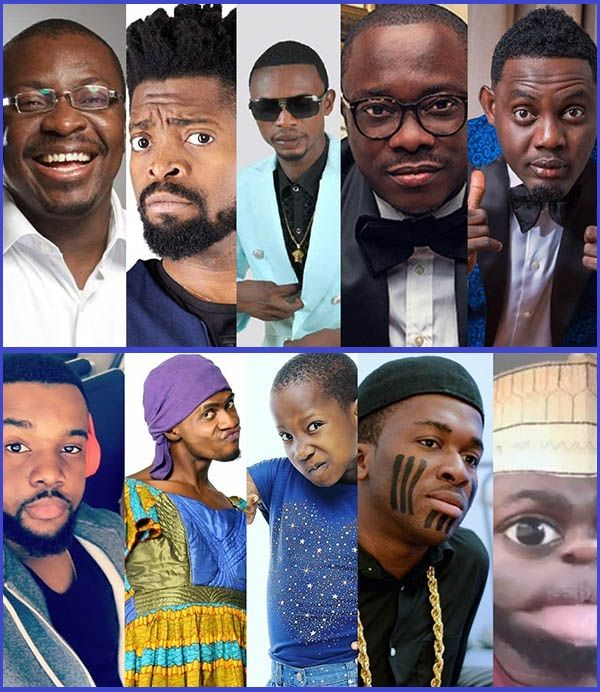 Collage-photo-the-richest-Nigerian-comedians