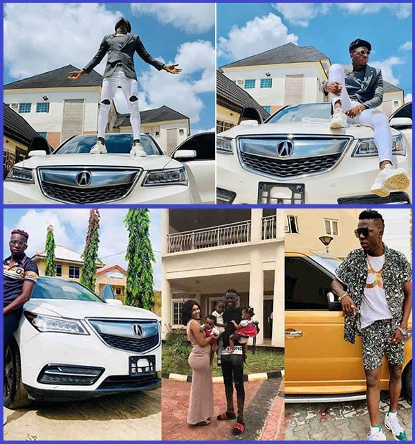 Nigerian-comedian-Akpororo-poses-with-his-cars