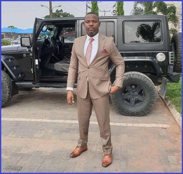 Okey-Bakassi-posses-with-his-Mercedes-G-Wagon-SUV