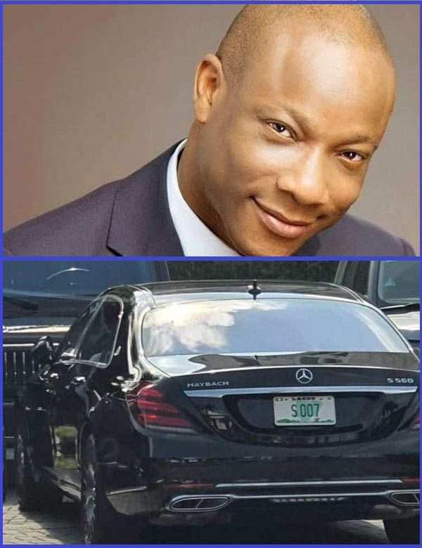 Collage-photo-of-Segun-Agbaje-and-the-Mercedes-Maybach-S560-he-reportedly-acquired-in-2020