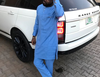 Comedian Ani Chinedu Emmanuel shows off his brand new Range Rover Vogue