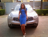 Famed blogger Linda Ikeji and the cars she has acquired
