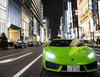 More than 200 Lamborghini supercars parade Yokohama street on Lamborghini day 2018