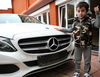 5-year-old boy gifted ₦13 million Mercedes-Benz C180 for performing 4105 straight push-ups
