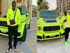 Guess who bought this neon Brabus G Wagon: Zlatan or Hushpuppi? - No one!