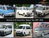 "Look back Toyota HiAce ""Hummer"" Bus 52-year evolution since 1967"