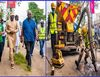 Governor Sanwo-Olu personally inspects the ongoing repair works on Lagos roads