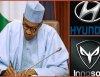 Nigerians react to Buhari's endorsement of Hyundai, showing concern for Innoson