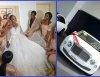 Linda Ikeji's sister wedding breaks social media for luxury cars & staggering number of bridesmaids
