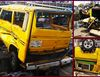 "Ghastly accident involving ""Vanagon"" bus kills 1 victim leaving 12 others severely injured in Lagos"