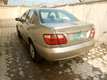 Foreign Used Nissan Almera 2005 Model Gold for Sale-1
