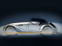 Morgan Plus 4 70th Anniversary Edition is an epitome of gold frame delight
