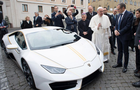 Pope's Lamborghini Huracan fetches over N300m at auction