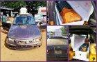 Nigeria Custom intercepts 23 plastic jerrycans of fuel hidden inside coffin