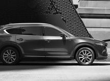2018 Mazda CX-8 styling partially teased