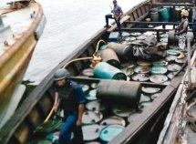 Nigerian Navy arrests 1.1m litres of stolen diesel in Rivers
