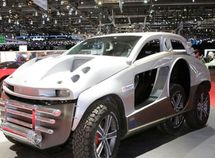 See the ugliest vehicle at the Geneva Motor Show - Sabarro 4×4+2 SUV