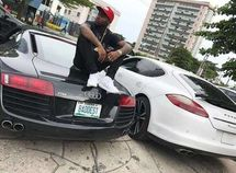 Check out cool personalized number plates on Nigerian celebrity cars