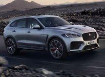 Jaguar reveals its fastest SUV - F-Pace SVR