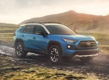Toyota RAV4 2019 premiered at 2018 New York Auto Show