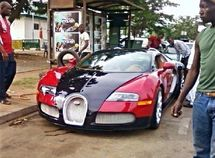The world's top 10 luxury cars spotted in Nigeria
