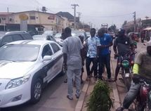 Nigerians' reactions when seeing a self-driving car for the first time