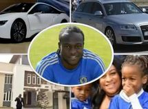 Have a closer look at the extravagant car collection of Victor Moses