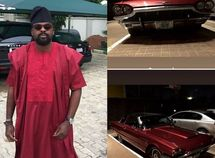 Actor and film producer Kunle Afolayan revealed his new Vintage Ford car