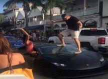 Man deliberately broke his N128m Lamborghini Huracan' windshield at Autopride event