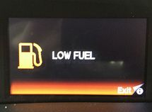 The fuel light is on: how farther you can go?