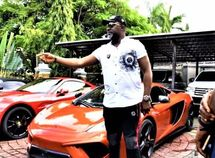 Another day, another astounding show-off post by Dino Melaye, today see his Mclaren MP14