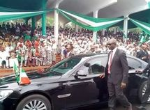Armored BWM 760 Li of Enugu State's Governor can go 80km with its flat tires