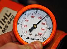 How to measure the compression ratio - the engine health condition