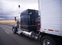 Here's why you should be humble driving along a truck!