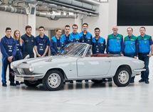 This is the last BMW 1600 GT convertible of its kind on Earth!
