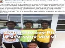 Nigerian lady mourns 7 close friends killed at once in an accident by a drunk yahoo boy
