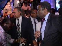Nigerian elites including Senator Ben Bruce now drive electric cars