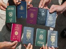 2019 Top 10 most powerful countries' passports in the world