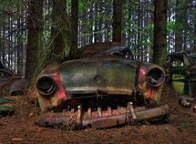 Vehicle cemetery and other creepy places in the world