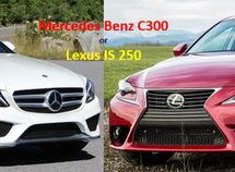 [Expert car compare] Lexus or Mercedes? 2008 Lexus IS 250 vs 2008 Mercedes Benz C300