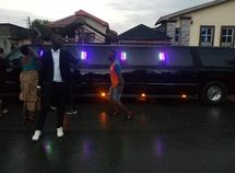 Pastor acquires a New Hummer Limousine
