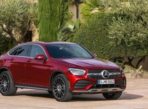 Mercedes GLC Coupe revamped for 2019: fresh look with dynamic style!