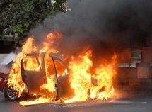 What is the cause of car fire explosions?